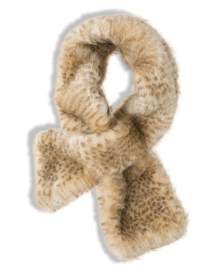 Kimberly Faux-Fur Scarf