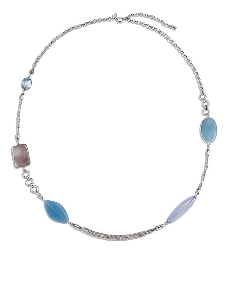 Luna Blue Necklace
