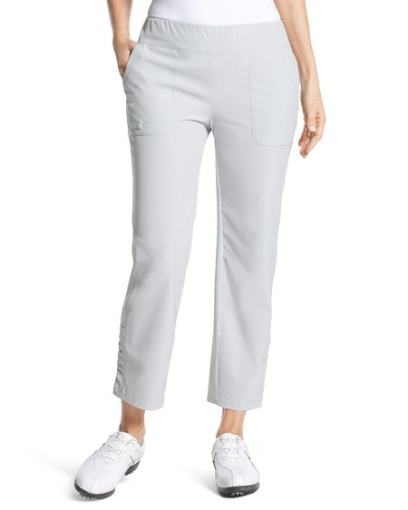 Zenergy Golf Ruched Detail Crop Pants