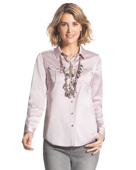 Beautiful Sheen Alda Button-Down Shirt