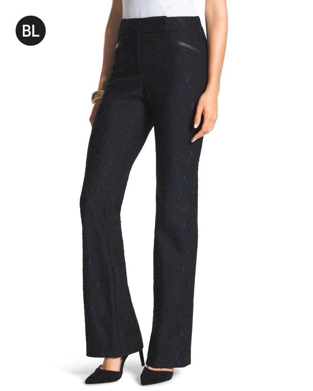 Lace Trouser Pants - Chicos
