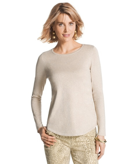 Mindy Subtle Shine Sweater