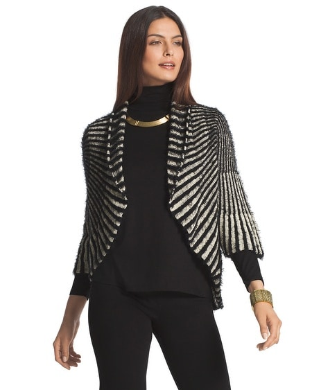 Vertical Stripe Shreya Cardigan