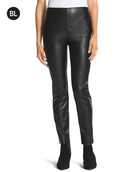 67c773a8309b9 Return to thumbnail image selection Faux-Leather Leggings video preview  image, click to start video
