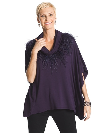Fancy Feathers Poncho