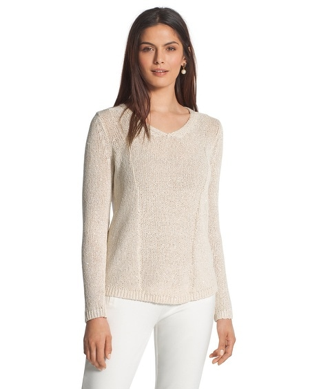 Sequin Shine Samantha Sweater