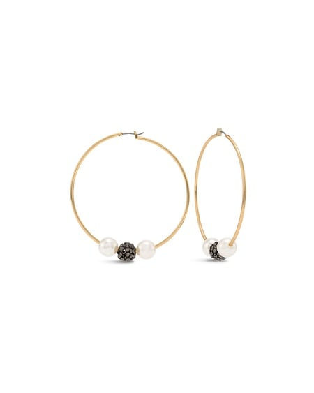 Gale Hoop Earrings