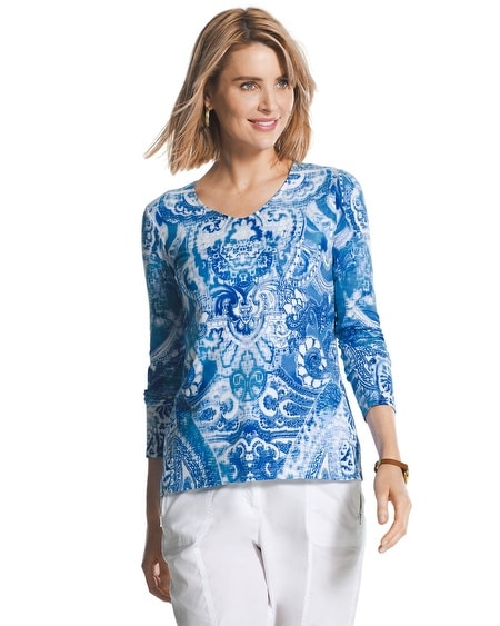 Intricate Scroll Smooth Valentina Top