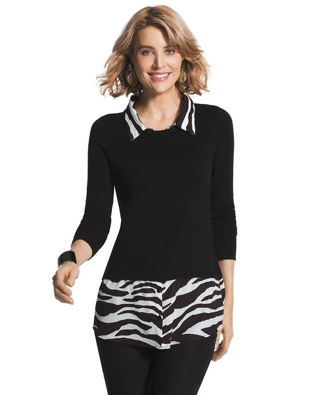 Sena Zebra Sweater