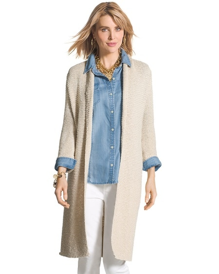 Textured Neeli Cardigan