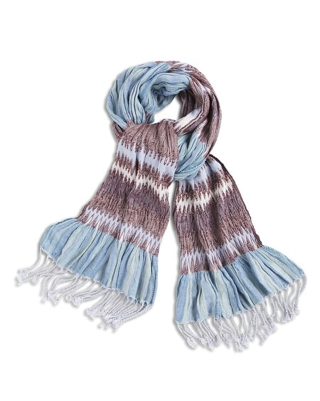 Pleated Pauleen Scarf