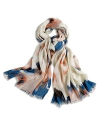 Washed Floral Scarf