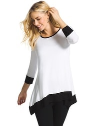 Zenergy Hallie Colorblock Tunic