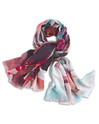 Floral Sunset Scarf