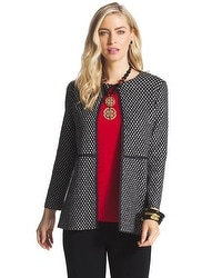 Travelers Collection Lovely Lisa Dot Print Jacket