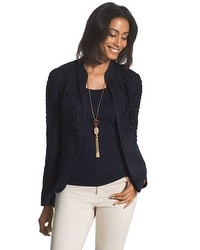 Lace And Linen Jacket