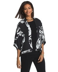 Travelers Collection Floral Print Jacket