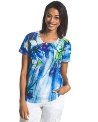 Zenergy Harriet Floral Print Top