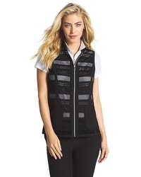 Zenergy Golf Mixed Fabric Vest