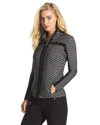 Zenergy Textured Jacquard Jacket