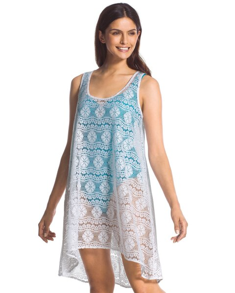 f1171a4c1f Crocheted Swim Cover-Up Dress - Chico's