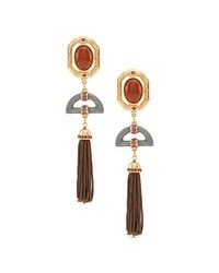 Jules Clip-On Tassel Earrings