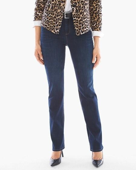 So Lifting Straight-Leg Jeans - Chicos