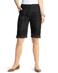 Rolled Bermuda Shorts