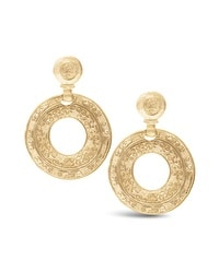 Fay Gold-Tone Clip-On Earrings