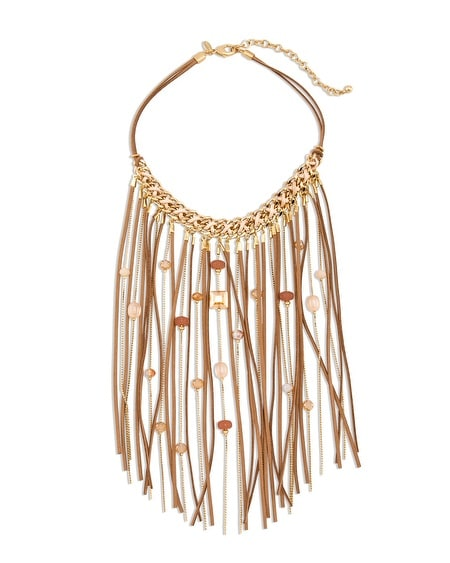 Clove Fringe Necklace