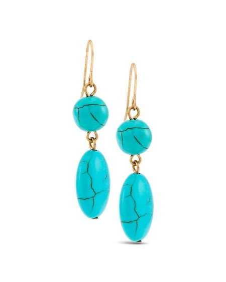 Seline Drop Earrings