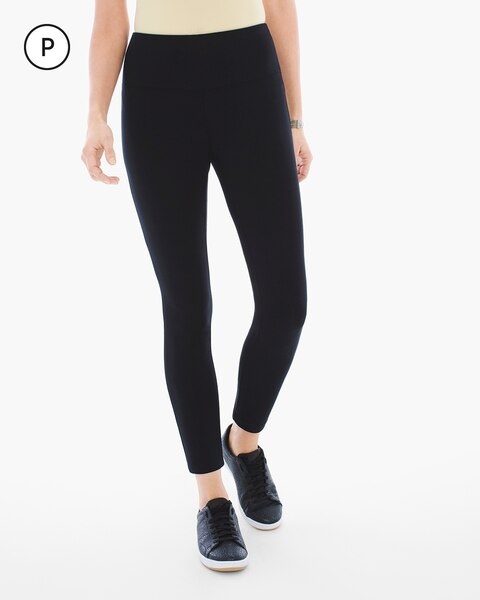 54f6db0baf401 Return to thumbnail image selection Petite Crop Leggings video preview  image, click to start video