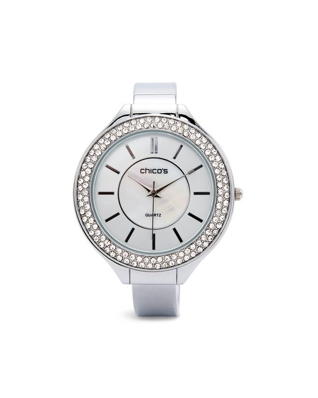 Whitley Silver-Tone Watch
