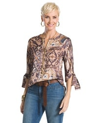 Tribal Patchwork Tunic