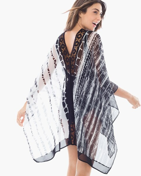 1bff3f2bd9604 Return to thumbnail image selection Animal Print Swim Cover-up Poncho