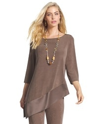 Travelers Classic Mixed Fabric Sierra Top
