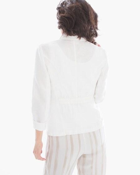 Clean Linen Blazer