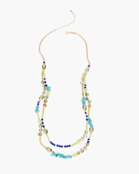 Kendra Double-Strand Necklace