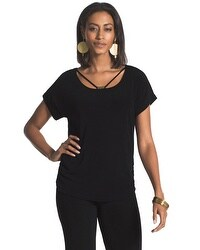 Travelers Classic Strappy Neckline Top