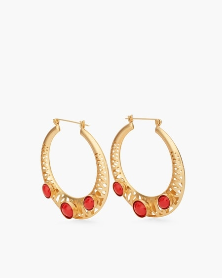 Gianna Hoop Earrings