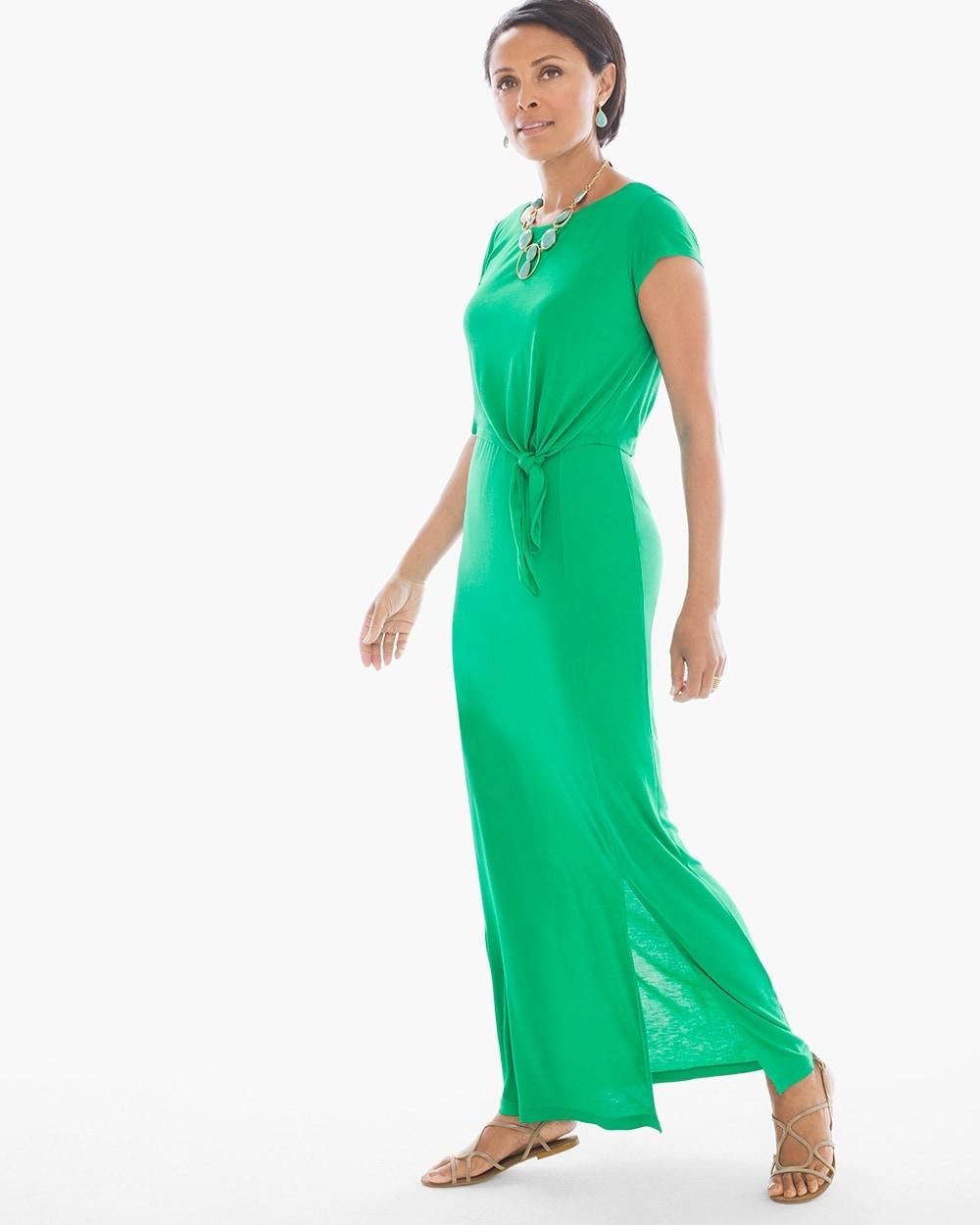 665d21ec9c5 Solid Popover Paige Maxi Dress - Chico s