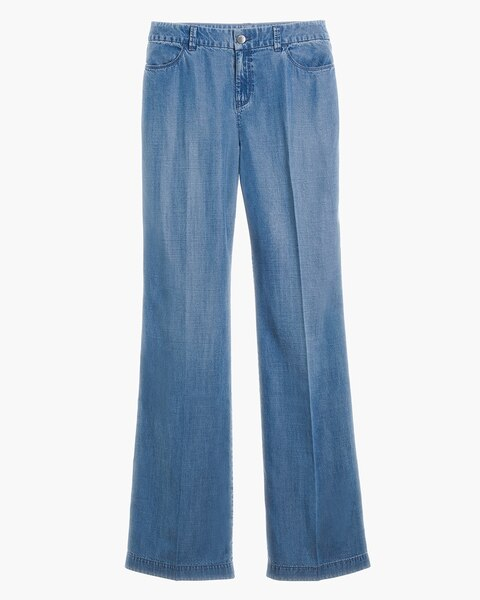 I liked these jeans a lot but there are a few issues. First, the indigo comes off A LOT the first few times you wear them. Although these are a