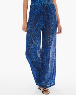 Chico's Purrfection Swim Cover-up Pants | Tuggl