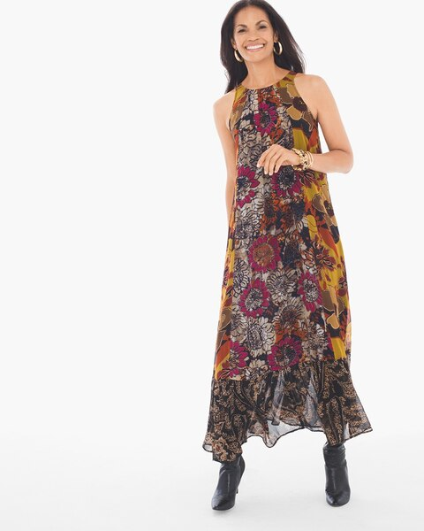 85f7327ae2 Return to thumbnail image selection Floral Print Maxi Dress video preview  image