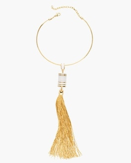 Chico's Kennedy Tassel Necklace | Tuggl