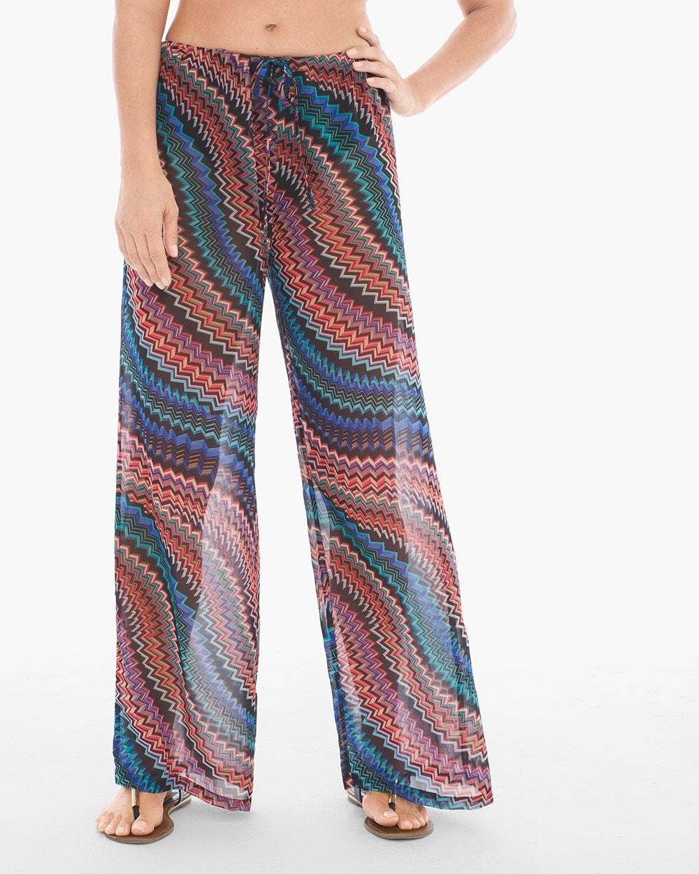 zip drive swim coverup pants