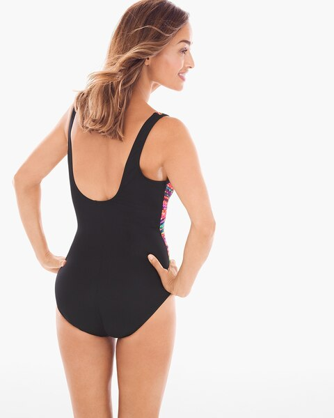 c819350e127 Return to thumbnail image selection Night Lights Layered Escape One-Piece  Swimsuit