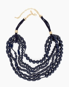 Chico's Nia Multi-Strand Necklace | Tuggl