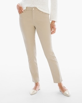 Chico's Sateen Girlfriend Ankle Jeans | Tuggl