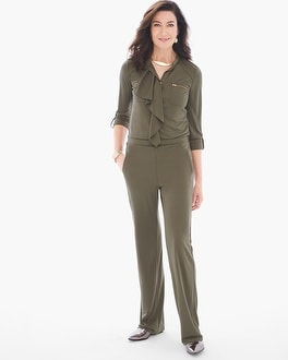 Chico's Ruffled Utility Jumpsuit | Tuggl